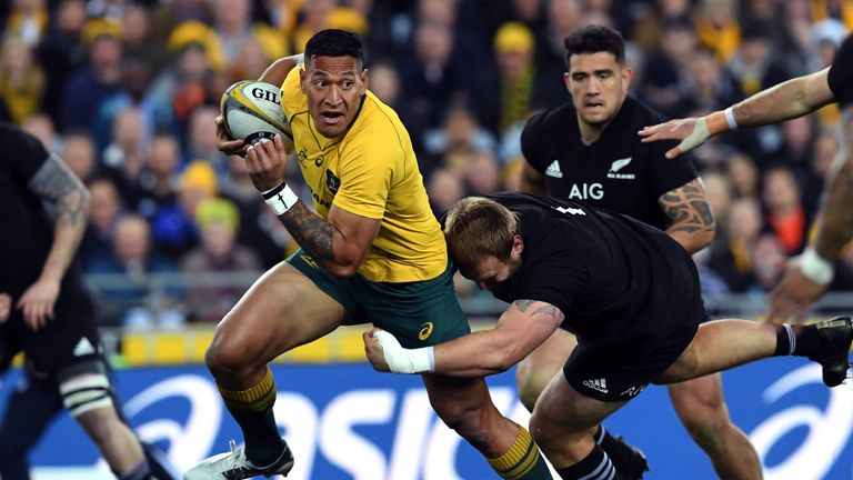 Israel Folau summoned to explain anti-gay post on Instagram