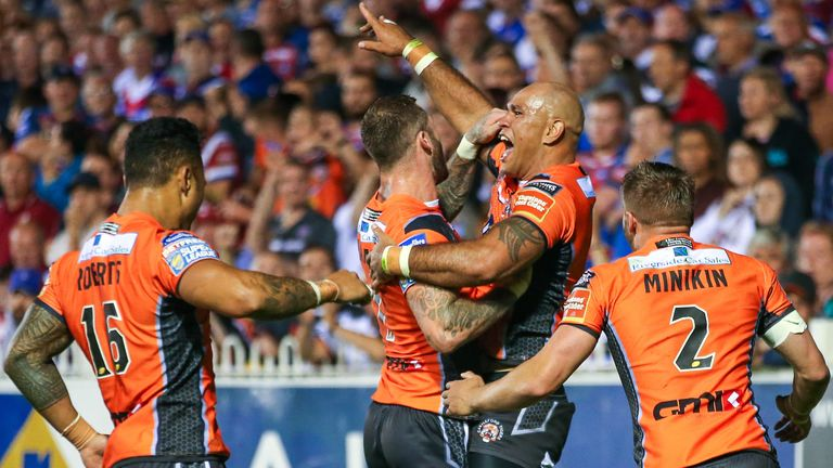 Castleford will feature in the 2018 World Club Series
