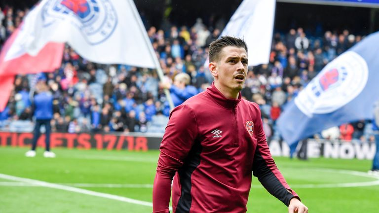 Jamie Walker stays at Hearts as no deal agreed with Rangers