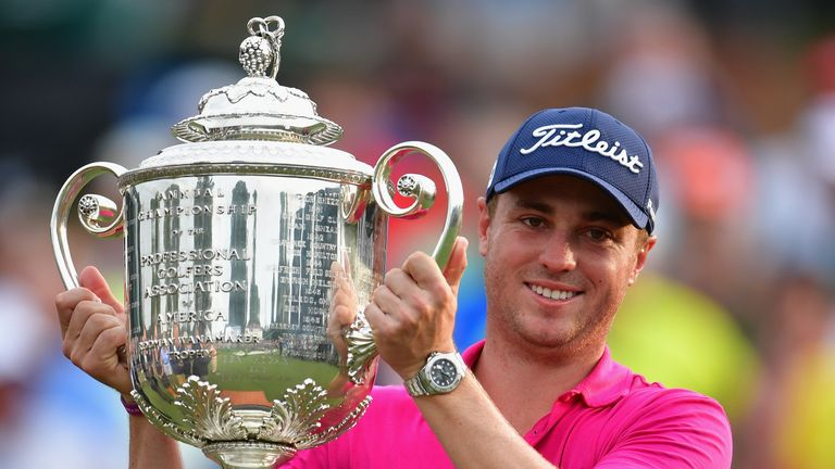 Justin Thomas his maiden major title at the PGA Championship earlier this month