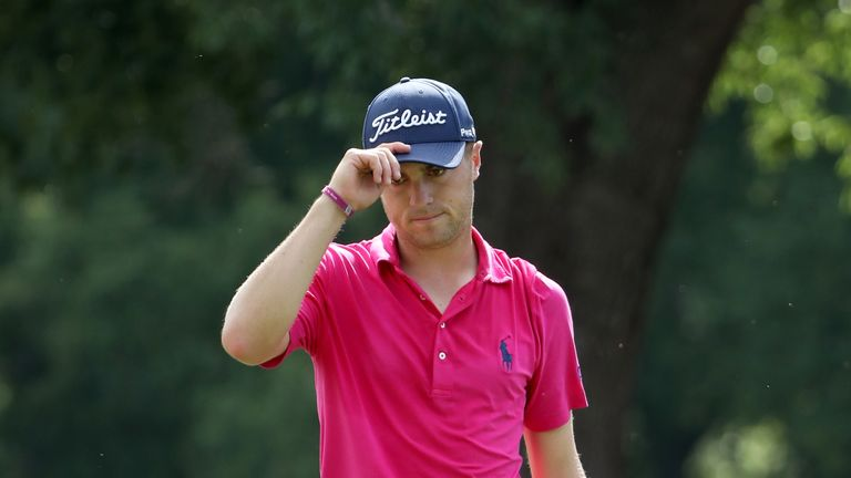 Justin Thomas claimed his first major title with a final-round 68 at Quail Hollow