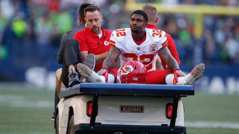 Chiefs' Spencer Ware reportedly out 2-8 weeks with knee injury
