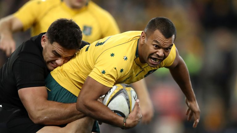 Kurtley Beale threatened the All Blacks will ball in hand on Saturday