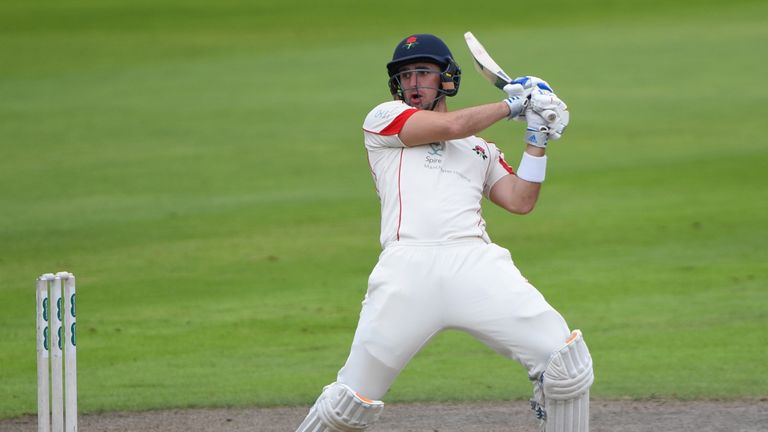 Liam Livingstone scored a double ton for Lancashire