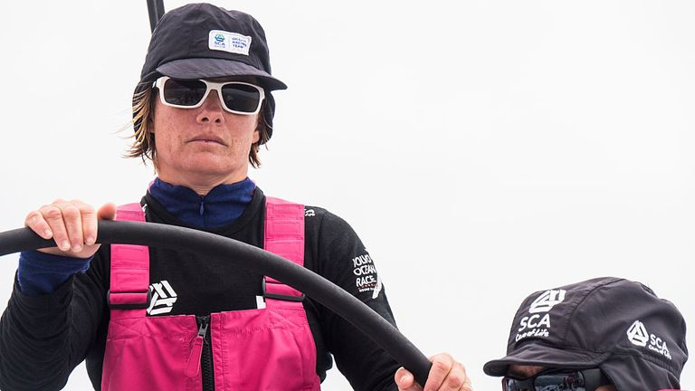 Liz Wardley will be boat captain aboard Turn the Tide on Plastic