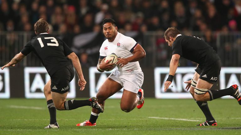 Manu Tuilagi sent home from England training camp