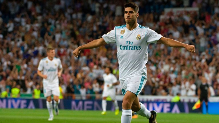 Marco Asensio enetered the La Liga Power Rankings at No 2 this week