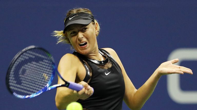Maria Sharapova made her Grand Slam return at the US Open last August