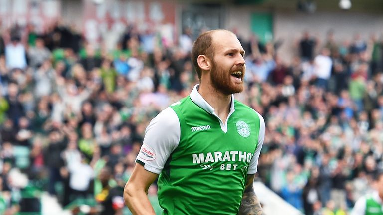 Martin Boyle scored as Hibs beat Partick on their return to the Premiership