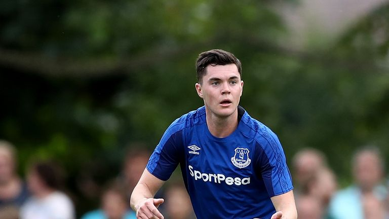 Michael Keane injured his foot against Burnley