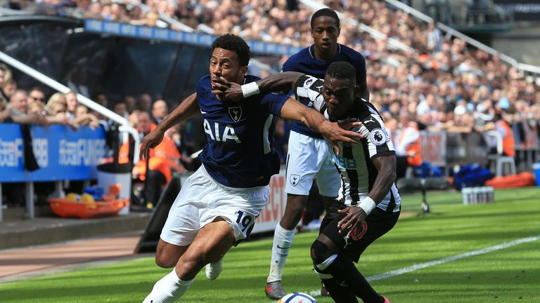 Mousa Dembele has been missing since the EFL Cup win over Barnsley in September