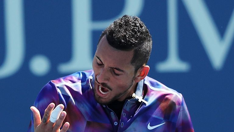 Nick Kyrgios downplayed the importance of winning a Grand Slam
