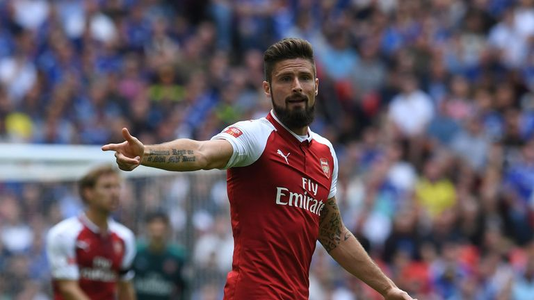 Arsenal 39 s olivier giroud is not interested in a return to for Olivier giroud squadre attuali
