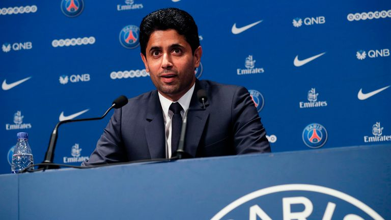Nasser Al-Khelaifi says winning the Champions League is still the main aim for PSG