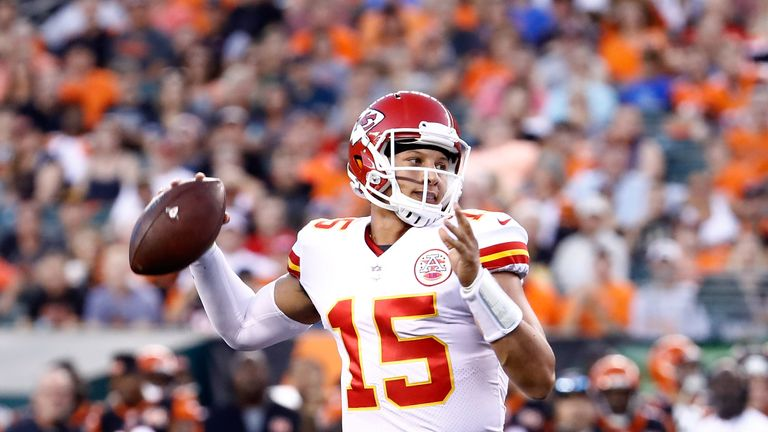 Rookie QB Patrick Mahomes could be in line to take over the Chiefs offense