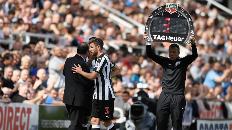 Dummett now faces a two-week spell on the sidelines, according to Rafa Benitez
