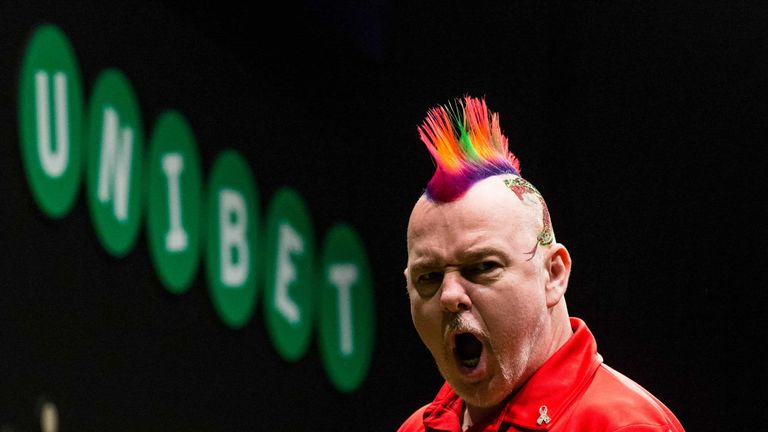 Wright played some superb darts but failed to capitalise on promising positions (Tim Murdoch/PDC)