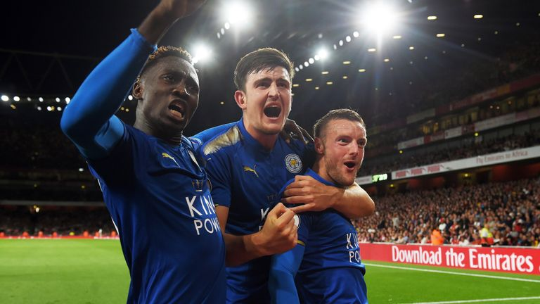 Harry Maguire has scored one goal and claimed two assists for Leicester