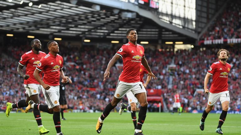 Barcelona are targeting a move for Marcus Rashford next summer