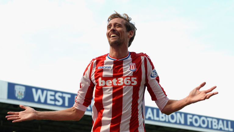 Crouch has scored three goals in seven appearances for Stoke in all competitions this season