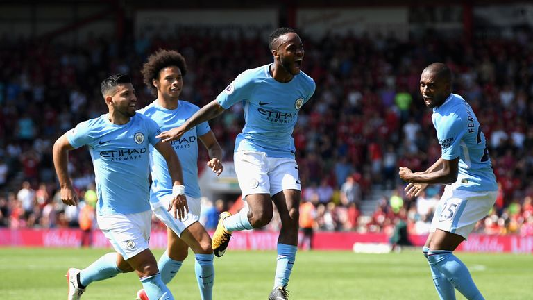 Raheem Sterling  will not be leaving Manchester City for Arsenal