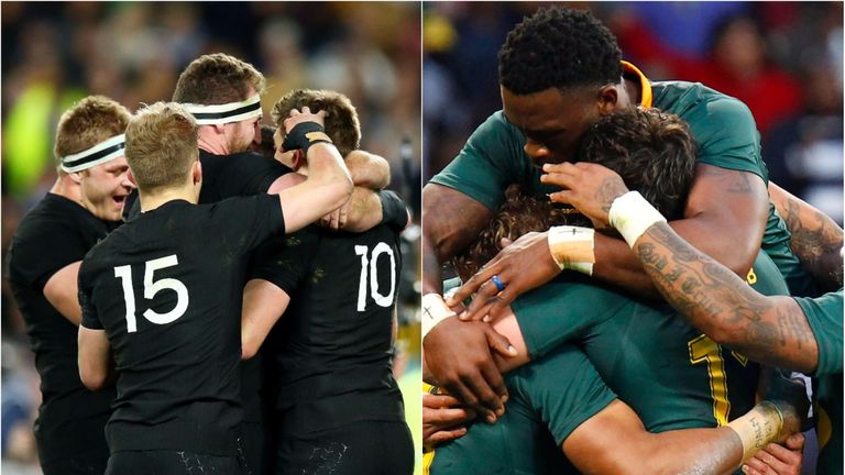 Who were the standout players from the the first week of the Rugby Championship?