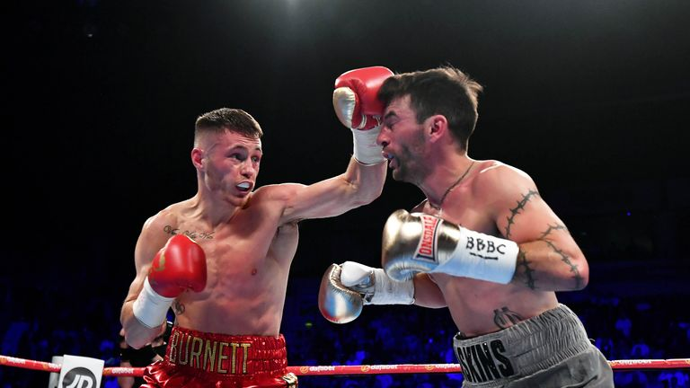Ryan Burnett is relaxed ahead of title unification bout