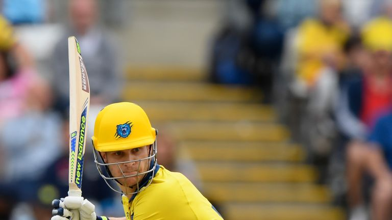 Sam Hain impressed for Warwickshire in white-ball cricket