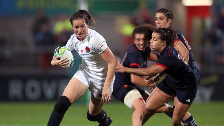 Emily Scarratt promises her side will find a little bit extra for the final