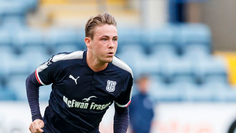 Scott Allan has joined Dundee on-loan from Celtic for the season