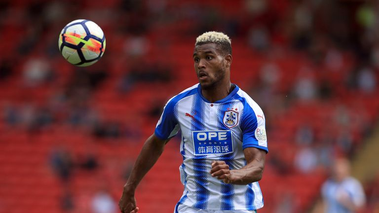 Huddersfield could welcome back Steve Mounie from injury on Saturday