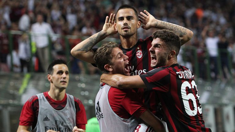Suso (centre) will line up on the right of a three-man front line against Arsenal
