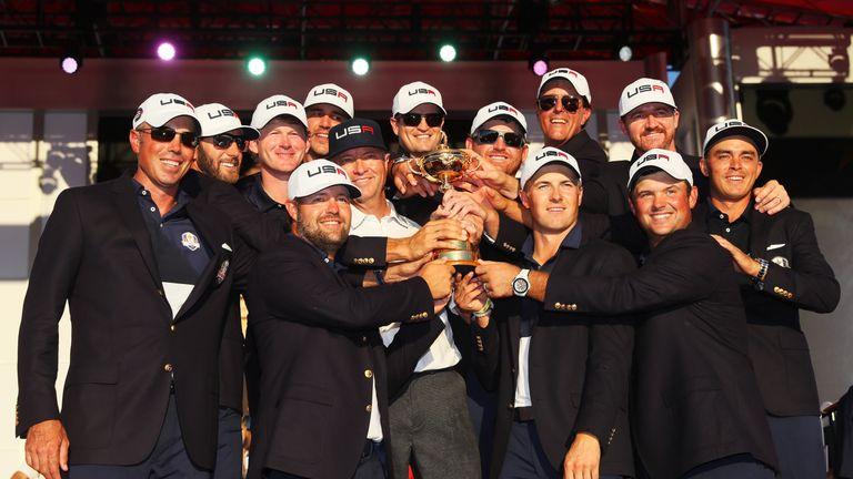 Team USA defeated Europe 16.5-11.5 at Hazeltine last year