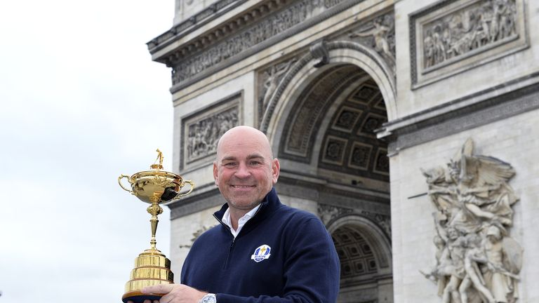 Thomas Bjorn, Europe's captain at Le Golf National this year, has paid tribute to John Jacobs