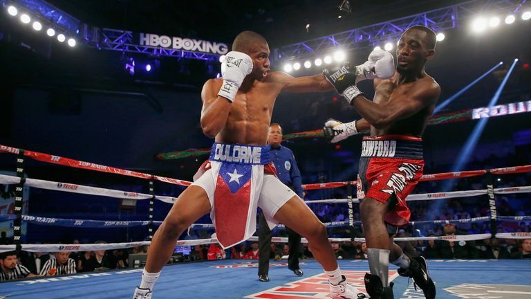 Thomas Dulorme took on Terence Crawford at super-lightweight in 2015