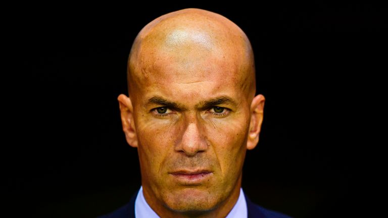 Zinedine Zidane has ruled out any more signings this summer