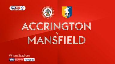 Accrington 2-1 Mansfield