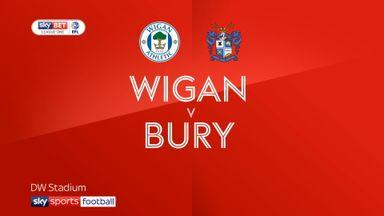 Wigan 4-1 Bury