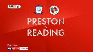 Preston 1-0 Reading
