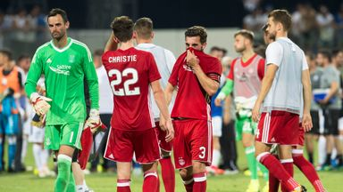 Aberdeen were dumped out of the Europa League in Cyprus