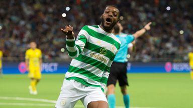 Celtic's Olivier Ntcham celebrates his goal
