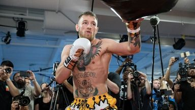 McGregor will make boxing debut against Floyd Mayweather