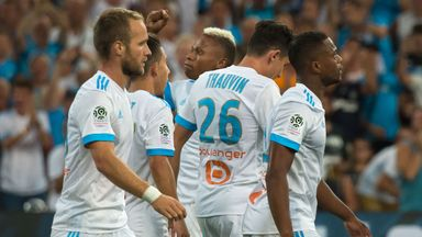 Marseille maintained their 100 per cent start to the season with victory over Nantes