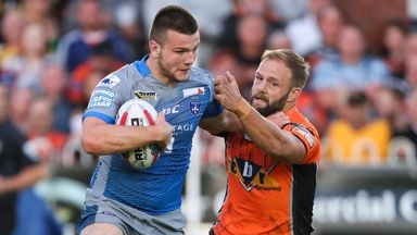 Max Jowitt (left) has committed his future to Wakefield