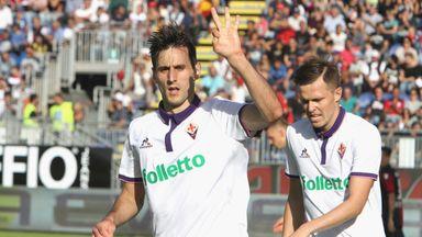 Nikola Kalinic has swapped Fiorentina for AC Milan