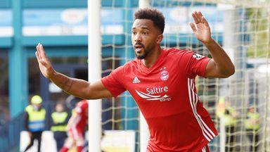Shay Logan scored the winning goal as Aberdeen beat Ross County on Saturday
