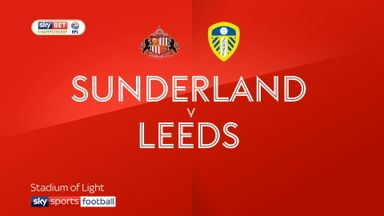 Sunderland 0-2 Leeds