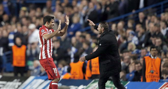 Chelsea's Costa to demand Atletico Madrid transfer