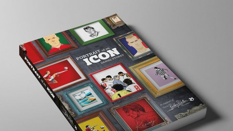 Daniel Storey's book Portrait of an Icon will raise funds for the Sir Bobby Robson Foundation