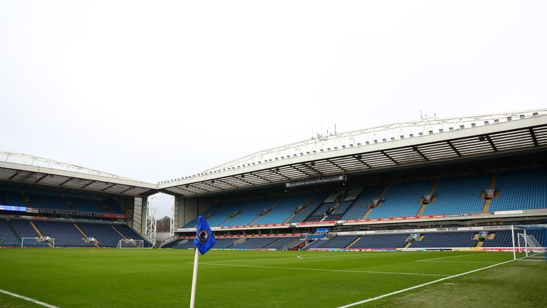 BLACKBURN, ENGLAND - JANUARY 28:  A general view inside the stadium prior to the Emirates FA Cup Fourth Round match between Blackburn Rovers and Blackpool